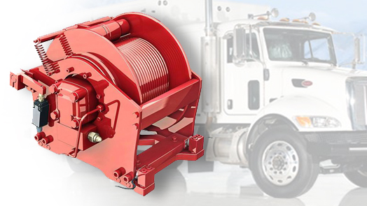 Hydraulic Winches and Planetary Gearboxes